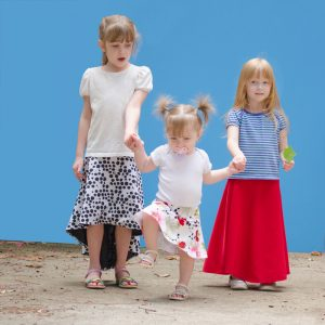 Girls Brook Blossom Skirt Listing Photo